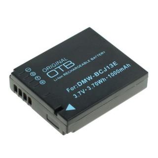 Baterija DMW-BCJ13E za Panasonic Lumix DMC-LX5 / DMC-LX7, 1000 mAh