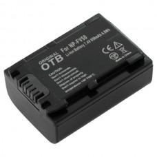 Baterija NP-FV50 za Sony DCR-SR58E / NEX-VG10 / HDR-TD30, 650 mAh
