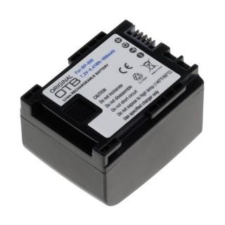 Baterija BP-809 za Canon FS10 / HF10 / HF100 / Legria HF-G10 / HF-S100, 890 mAh