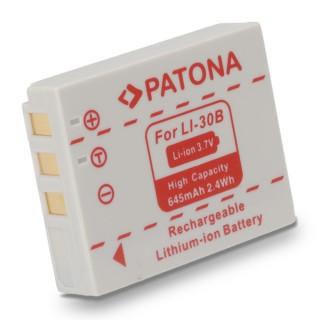 Baterija LI-30B za Olympus mju Mini Digital / Digital S / Stylus Verve Digital, 645 mAh