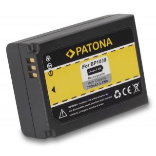 Baterija BP1030 za Samsung NX200 / NX300 / NX500 / NX1000, 750 mAh