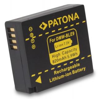 Baterija DMW-BLG10 / DMW-BLE9 za Panasonic Lumix DMC-GF3 / DMC-GF6 / DMC-TZ81, 820 mAh