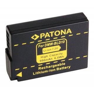 Baterija DMW-BLD10 za Panasonic Lumix DMC-G3 / DMC-GF2 / DMC-GX1, 950 mAh