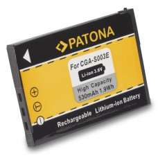 Baterija CGA-S003E za Panasonic SA-SA30 / SV-AS10 / SV-AV50, 530 mAh