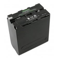 Baterija NP-500 / NP-F550 za Sony CCD-RV100 / CCD-RV200, 10400 mAh