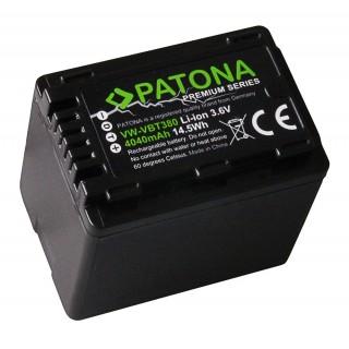 Baterija VW-VBT380 za Panasonic HC-V110 / HDC-H100 / SDR-H100, 4040 mAh