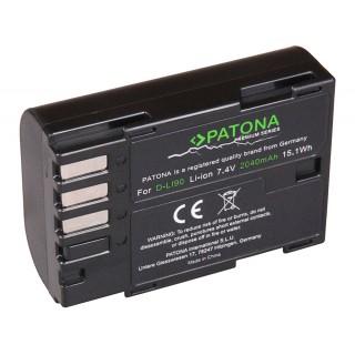 Baterija D-LI90 za Pentax K-1 / K-5 / K-7, 2040 mAh