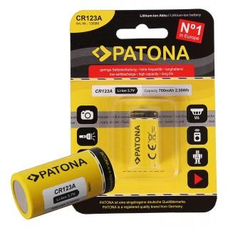 Baterija CR123A, Li-Ion, 700 mAh