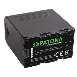 Baterija SSL-JVC75 za JVC GY-HM200 / GY-HM600 / GY-HMQ10, 7800 mAh