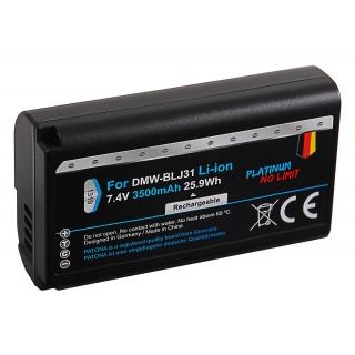 Baterija DMW-BLJ31 za Panasonic Lumix DC-S1 / DC-S1H / DC-S1R, 3500 mAh