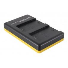 Polnilec za baterijo Sony NP-FZ100, MicroUSB, dvojni