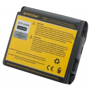 Baterija za Fujitsu Siemens Amilo M7400, 4400 mAh