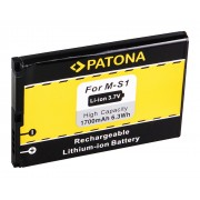 Baterija za Blackberry Bold 9000 / 9030 / 9220 / 9630 / 9700, 1700 mAh