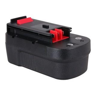 Baterija za Black & Decker A1718 / A18 / FSB18 / HPB18 / QP18, 18 V, 3.0 Ah