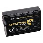 Baterija EN-EL15B / EN-EL15C za Nikon Z5 / Z6 / Z7, 2250 mAh