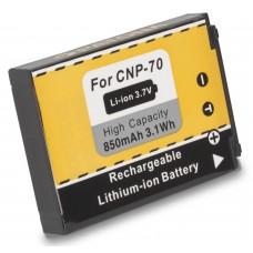 Baterija NP-70 za Casio Exilim EX-Z150 / EX-Z155 / EX-Z250, 850 mAh