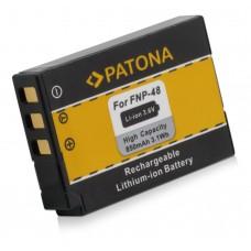 Baterija NP-48 za Fuji QX1, 850 mAh