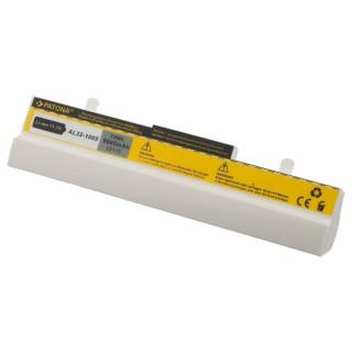 Baterija za Asus Eee PC 1001 / 1001H, bela, 6600 mAh
