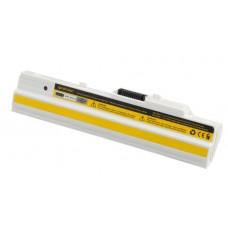 Baterija za Medion Akoya E1210 / MSI Wind U100 / U90, bela, 4400 mAh
