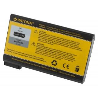 Baterija za Dell Inspiron 2100 / 4000 / 8000, 4400 mAh