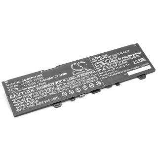 Baterija za Dell Inspiron Dell Inspiron 13 7000, 3100 mAh
