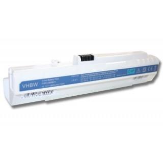 Baterija za Acer Aspire One A110 / A150 / D150 / D250, bela, 6600 mAh