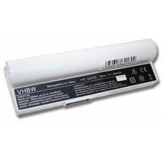 Baterija za Asus Eee PC 900A / 900HA / 900HD, bela, 6600 mAh