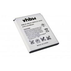 Baterija za Sony NW-HD5, 980 mAh