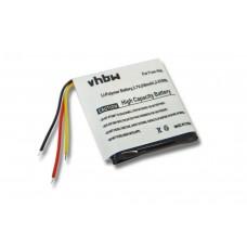 Baterija za Sandisk Sansa Fuze 4GB / 8GB, 550 mAh