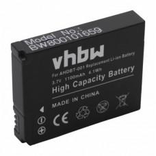 Baterija za GoPro HD Hero / HD Hero 2, 1100 mAh