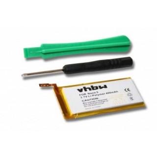Baterija za Apple iPod Nano 5G, 400 mAh