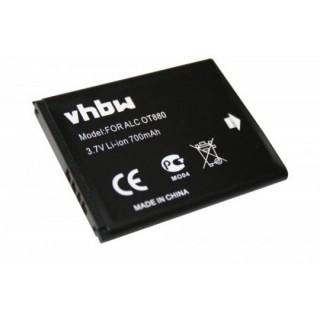 Baterija za Alcatel OT-385 / OT-880 / OT-905, 700 mAh