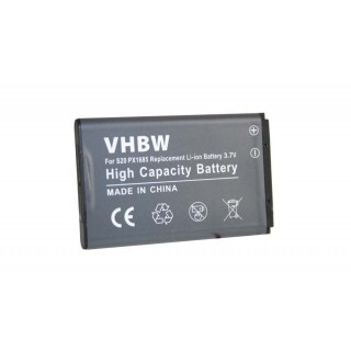 Baterija PX1685 za Toshiba Camileo S20 / S40 / S45, 1100 mAh