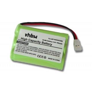 Baterija za Philips Babyphone SBC-SC368 / SBC-SC369, 700 mAh