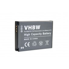 Baterija PX1733 za Toshiba Camileo S30 / S30 HD, 1000 mAh