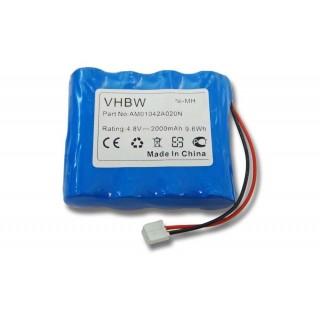 Baterija za Philips Babyphone SBC-SC463 / SBC-SC465 / SBC-SC467, 2000 mAh