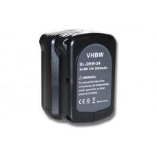 Baterija za DeWalt DE0240 / DE0241 / DW0240 / DW0242, 24 V, 3.0 Ah