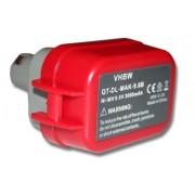 Baterija za Makita 9100 / 9101 / 9102, 9.6 V, 3.0 Ah