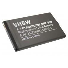 Baterija za Acer Iconia Smart / S300, 1500 mAh
