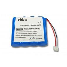 Baterija za Pure One Sensia / Flow / Verona, 10400 mAh
