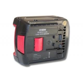 Baterija za Bosch GBH 14.4 V-LI / GDR 14.4 V-LI / GSB 14.4 V-LI / GSR 14.4 V-LI, 14V, 3.0 Ah