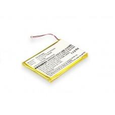 Baterija za Sony NWZ-720 / NWZ-A820, 750 mAh