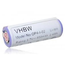 Baterija za Philips HS8020 / Braun Oral-B Pro 4500, 650 mAh