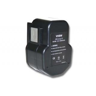 Baterija za AEG BDSE 12T / BEST 12X / BS2E 12T / SB2E 12 / WBE2E 12, 12 V, 3.3 Ah