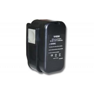 Baterija za AEG 2000, 9.6 V, 3.3 Ah