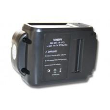 Baterija za DeWalt DCB140 / DCB141 / DCB142, 14.4 V, 3.0 Ah
