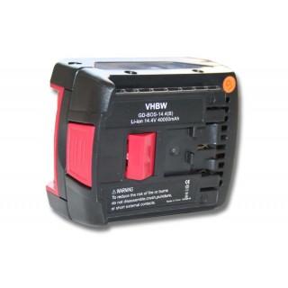Baterija za Bosch BAT607 / BAT614 / GDR 14.4 V-LI / GDS 14.4 V-LI, 14.4 V, 4.0 Ah