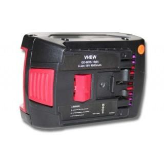 Baterija za Bosch BAT609 / BAT609G / BAT618 / BAT618G, 18 V, 4.0 Ah