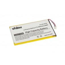 Baterija za Acer Iconia Tab B1-A71 / B1-710, 1800 mAh