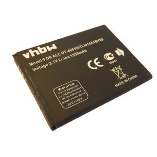 Baterija za Alcatel OT-4010 / OT-4030 / OT-5020, 1550 mAh